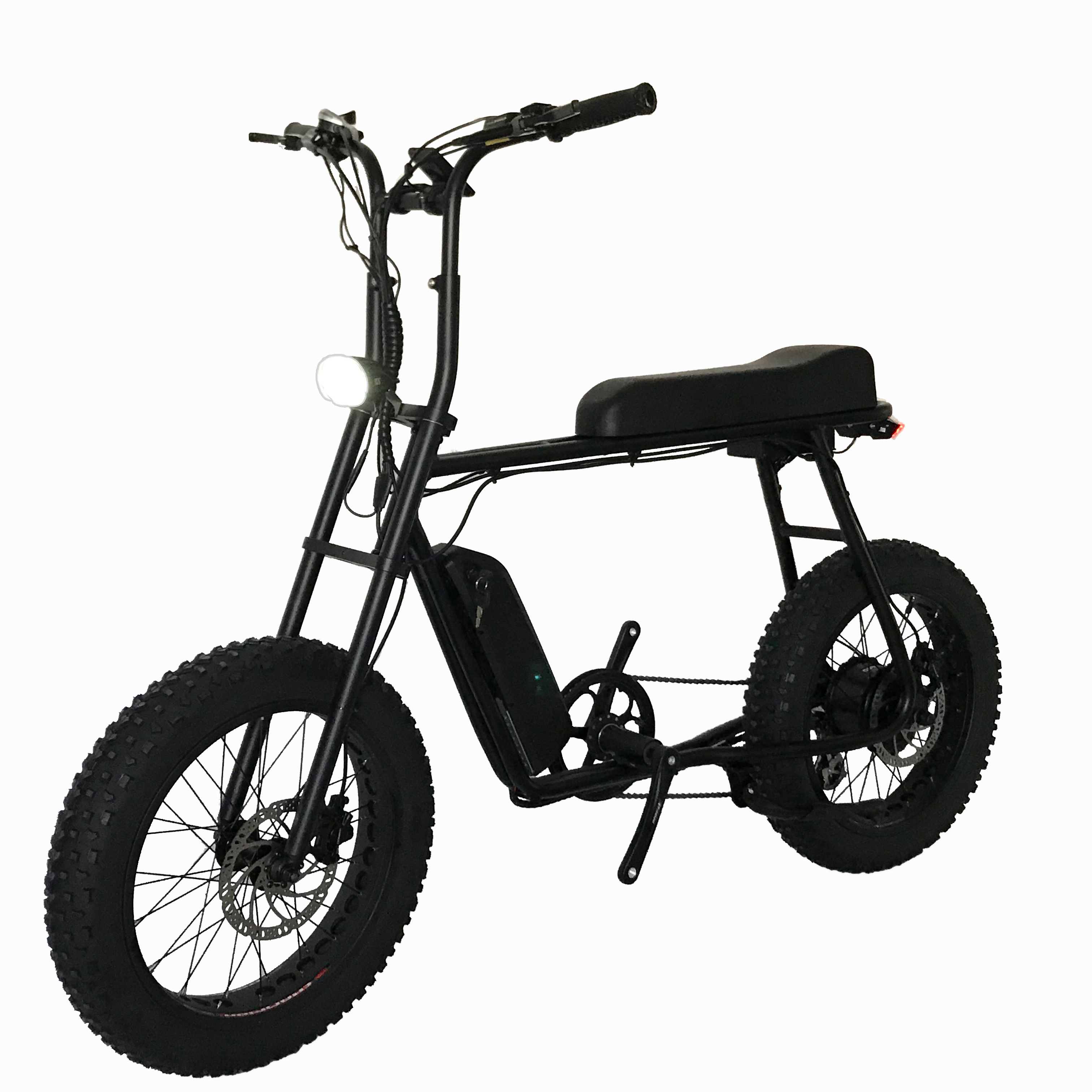 Mario-Retro 20 48v 750w Fat Tire ebike with Bafang rear motor, Color can be ordered
