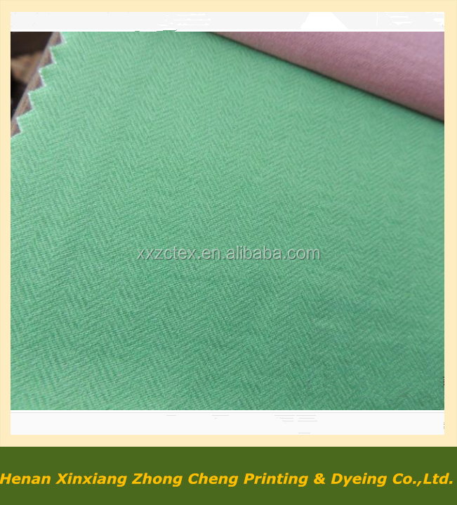 100% cotton 2/2 herringbone twill pants fabric factory