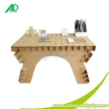 Fabrik Qualitäts Wellpappe Möbel Papptisch Großhandel Buy Papier