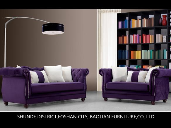 Purple Color Sofa Thesofa