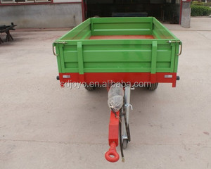 Agriculture single axle small truck trailer in Portugal