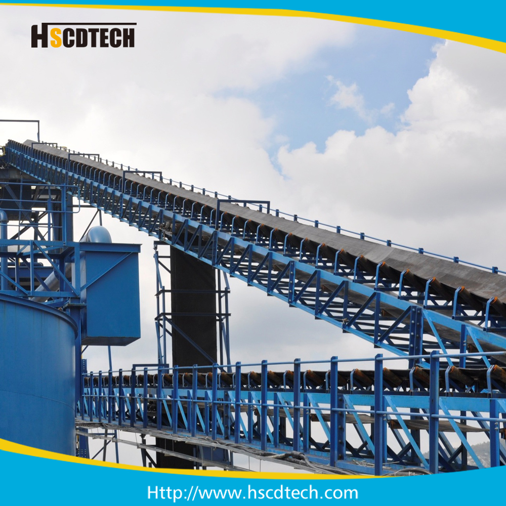 40 Inch coal mining industry belt conveyor system