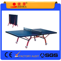 Double Folding Movable ping pong Table