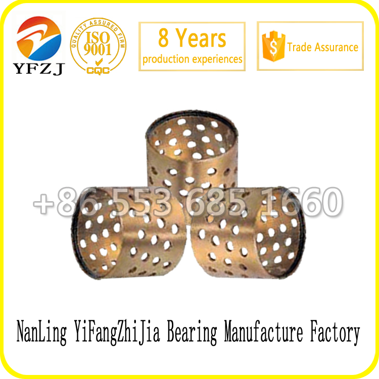 Customized OEM bearing series FB094 Bronze Wrapped Sliding bearing