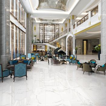 600x1200mm Vitrified Glossy Flooring White Marble Floor Porcelain Polished Glazed Tiles