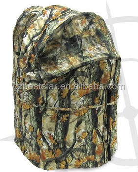 Hunting One Man Chair Tent Turkey And Deer Ground Blind