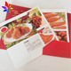 Promotion products mini manual catalogues for meat product flyer