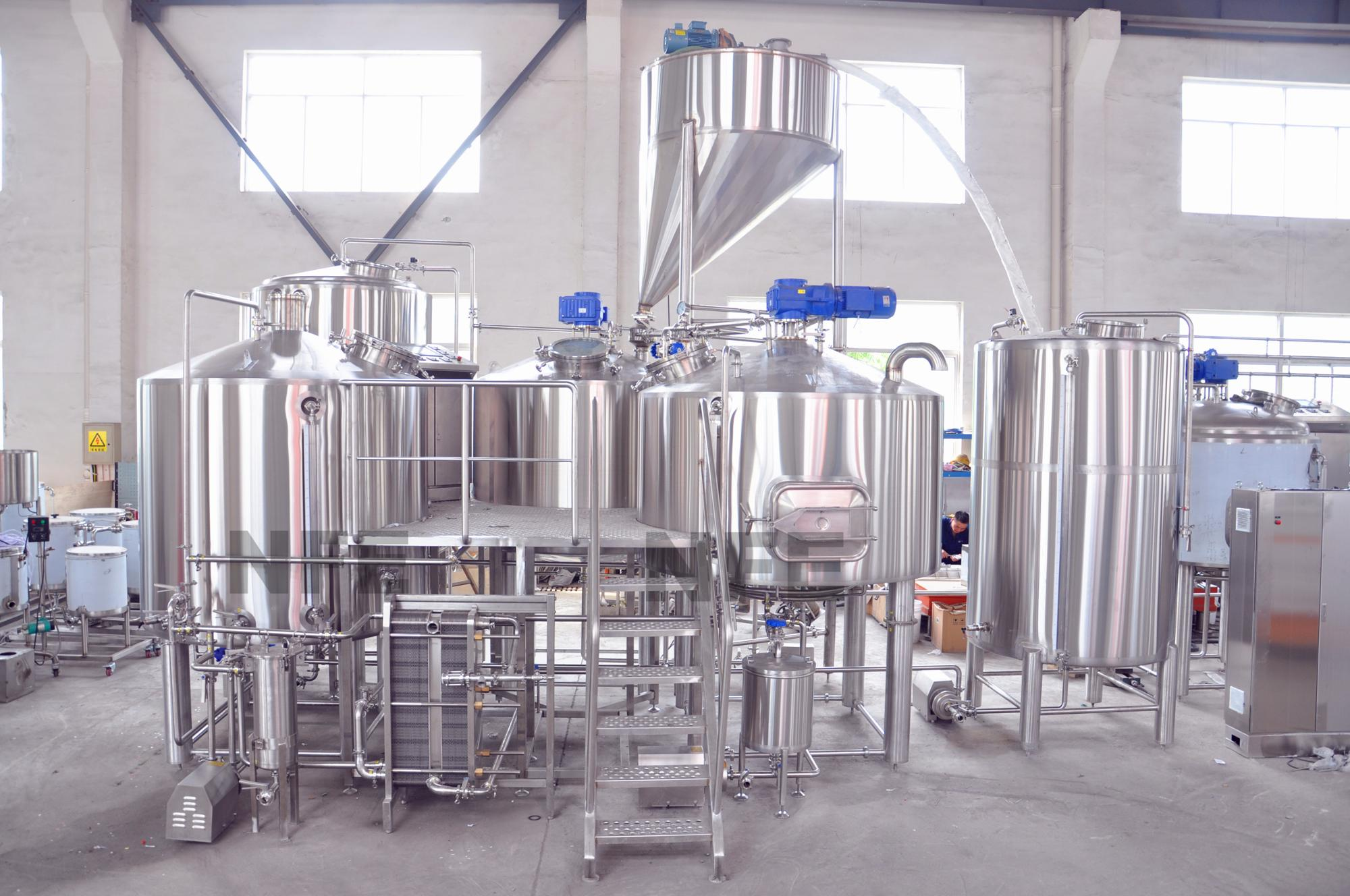 Micro Steam 3 Vessel Brewhouse 2000 Litre Buy Brewhouse