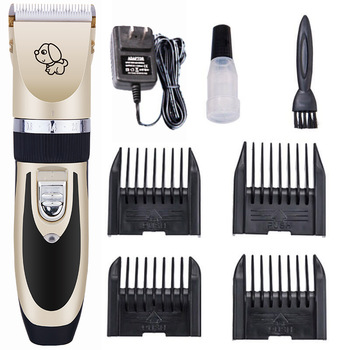Professional Low Noise Heavy Duty Pet Hair Trimmer Kit Detachable Dog Grooming Clippers