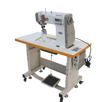 TTY-591 direct drive heavy duty shoe leather sewing machine