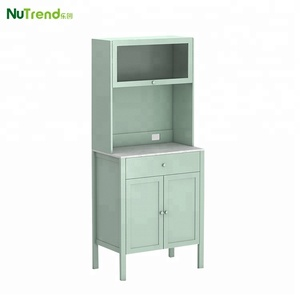 Dresser Wooden Display Buffet Cabinet Kitchen Ding Sideboard With Hutch