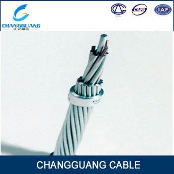 Optical Fiber Composite Overhead Ground Wire OPGW 24 Core Single ...
