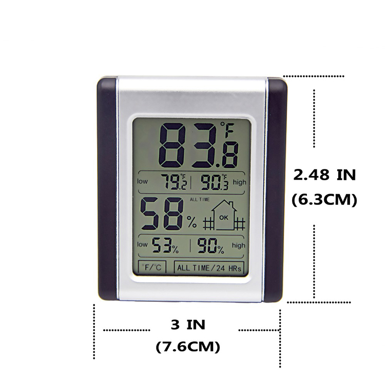Thermometer Hygrometer for Room Home Garden Warehouse Indoor  Thermometer