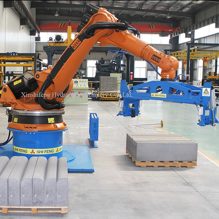 Small Hydraulic Robot Arm : Automatic hydraulic small industrial brick telescopic