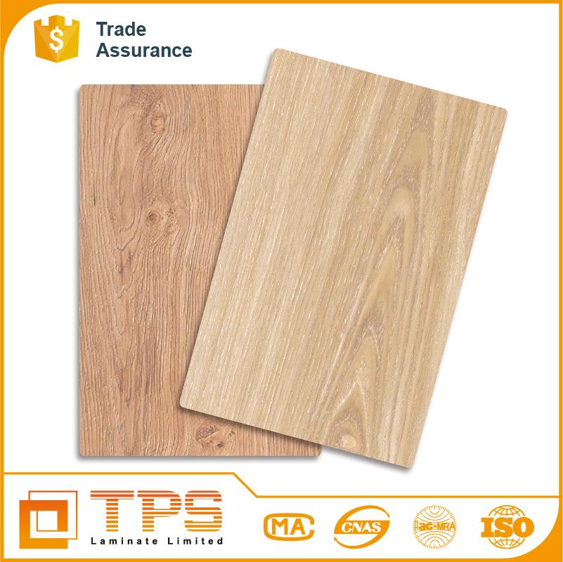 alto quanlity impermeable grano de madera laminado de papel para la decoracin