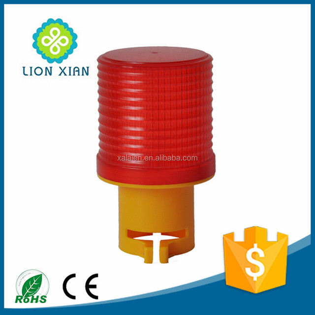 road barrier signal light traffic warning sign beacon