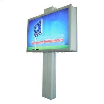 Advertising Outdoor Billboard Plexiglass Display Stand