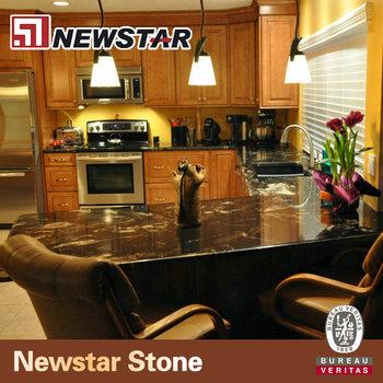 Newstar Cosmic Black Prefab Kitchen Pictures Granite