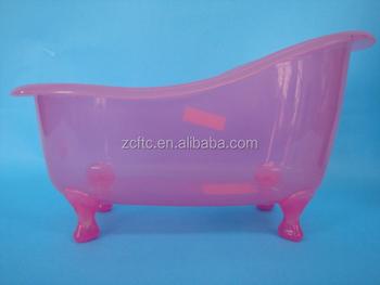 Vasca Da Bagno Rosa : Mini giocattolo di plastica vasca da bagno per il confezionamento