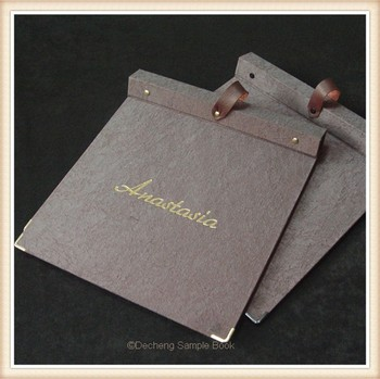 Wallpaper Sample Book, View leather sample book, DeCheng Product ...