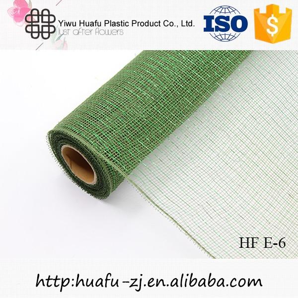 Decorative Fibre Net Roll for christmas flower mesh