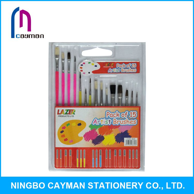 Hot sale high quality low price all kinds of taklon artist brush