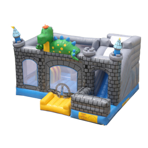 Customized size funfair inflatable bouncy castle