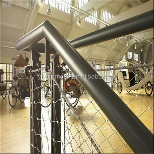 Wonderful Durable And Corrosion Resistant Stair Railing Safety Net(Manufactures)
