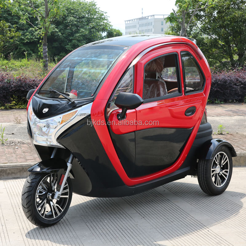 China 1500w 3 Wheel Low Price Electric Car For Penger