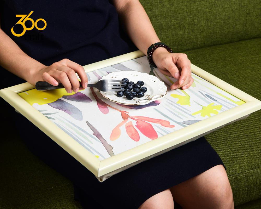 Enjoyable New Products Craft Food Laptop Computer Travel Bean Bag Lap Tray With Cushion View Computer Travel Bean Bag Lap Tray Lily Product Details From Ibusinesslaw Wood Chair Design Ideas Ibusinesslaworg