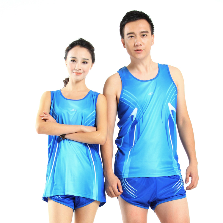 a70c21c41040e Get Quotations · Track Suit Running Jersey Set Male Female Athletic  Training Sleeveless Jerseys Sports Clothing JL-341