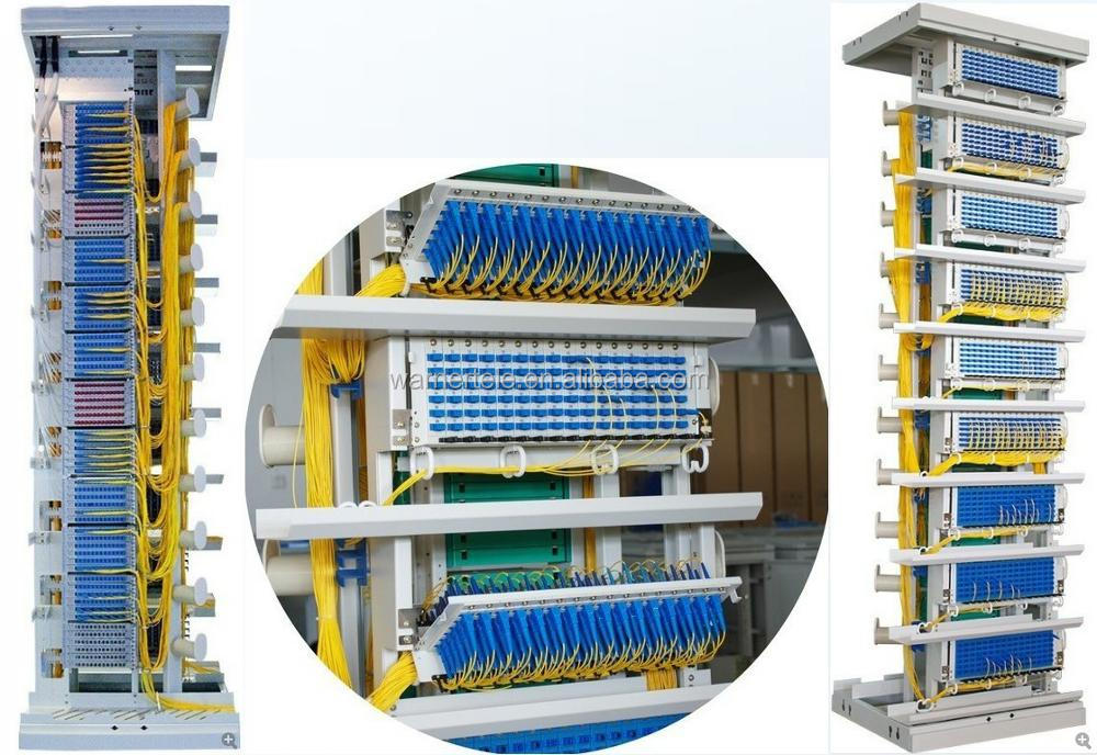 W TEL Fiber Optic Terminal Patch Panel Distribution Frame 42U (ODF) Cabinet