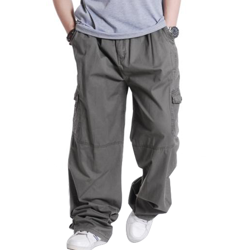 You'll find pants that create a fresh, clean look with a cuffed hem and side and back button-welt pockets for special occasions or work presentations. Some Big and tall chinos, khakis and trousers have flexible waistbands along with an extended button-tab closure to give a comfortable feel.