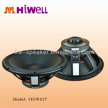 pro stage Ceramic,ferrite 18 inch speaker factory
