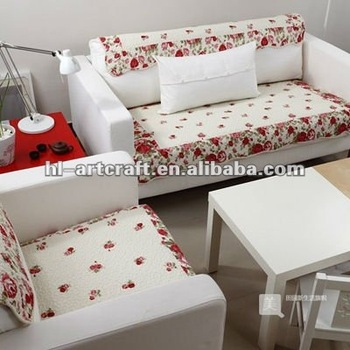 Sc 023 Patchwork Cotton Sofa Cover