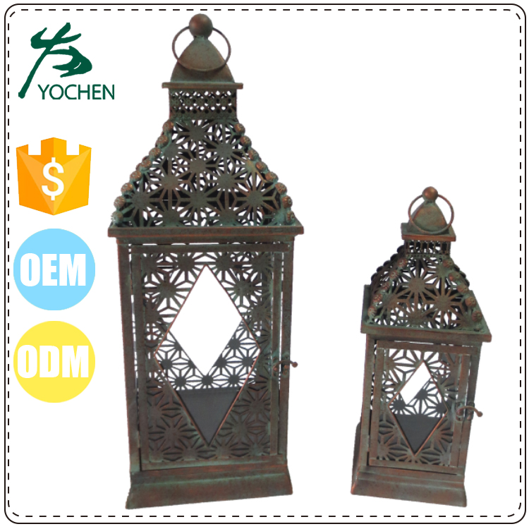 wholesale chinese cheap wood candle moroccan lantern, mini candle lantern wed favors