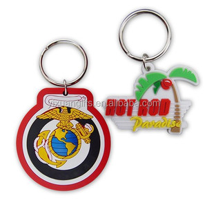 China Soft Pvc Rubber Keychain, China Soft Pvc Rubber