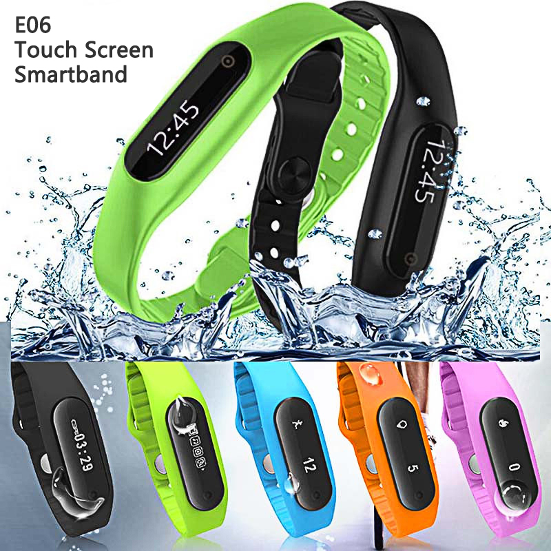 Original Smart Wristband Bracelet Fitness Tracker Touch Screen Smartband
