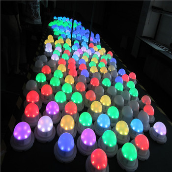 Waterproof Led Wedding Table Decoration Lighting Multi Color Led ...