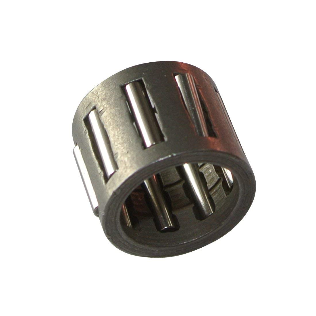 2 OD 1-5//8 ID Koyo B-268 Needle Roller Bearing Inch Full Complement Drawn Cup 1//2 Width 3900rpm Maximum Rotational Speed Open