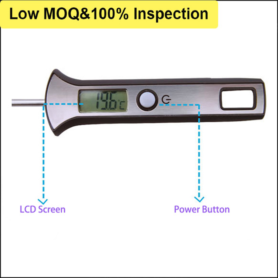 Funny Pocket Sized Professional Milk Candy Thermometer