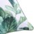 Custom Decorative Fresh Waterproof Heavy Canvas Green Leaf Pattern Outdoor Pillow Cover Outdoor Chair Cushions Covers