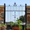 factory direct Wrought iron gates for house
