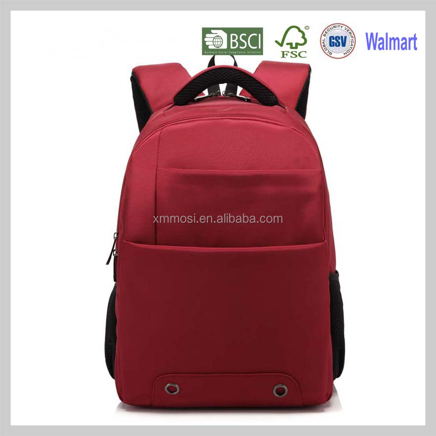 Wholesale red vintage backpack herschel of high school backpack