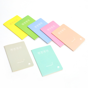 Stable structure small paper notebook making blank