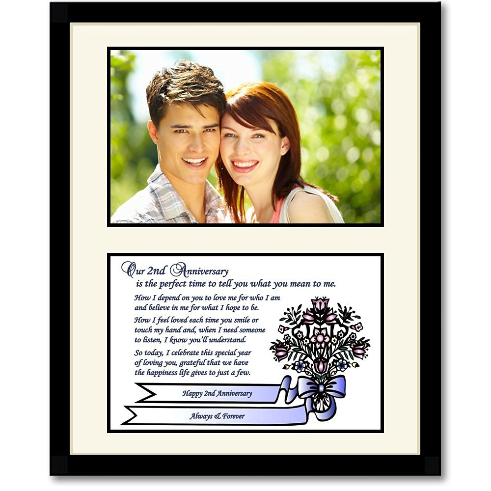 Buy 2nd Anniversary Gift Love Poem For Husband Wife Boyfriend Or