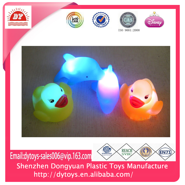 3D OEM baby bath toy,floating led bath toy,led flashing bath toys