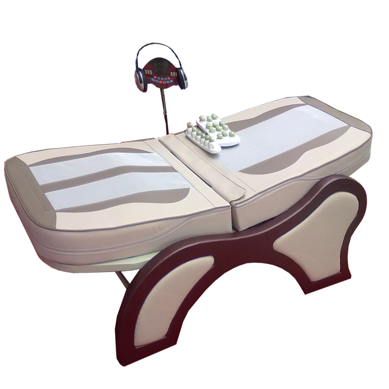 CE approved warm therapy vibrating health massage bed