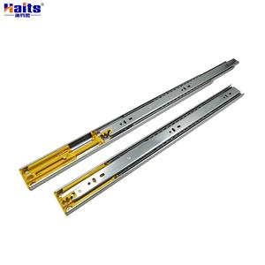 Bright Zinc Plated Motion 45mm Ball Bearing Drawer Runner Full Extension Slides-500mm