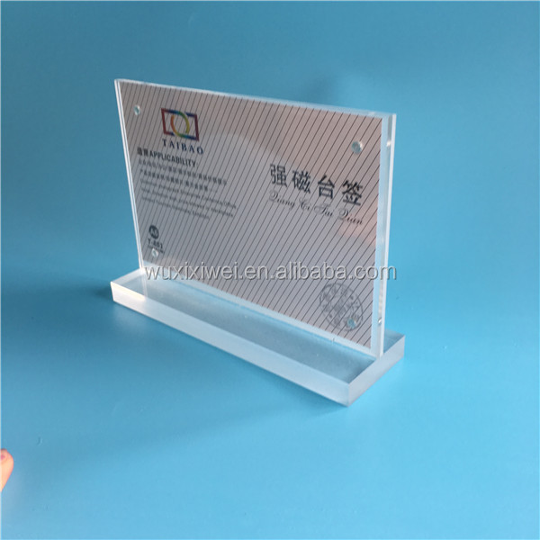 a3 a4 a5 a6 acrylic poster holder menu stand custom acrylic photo frame